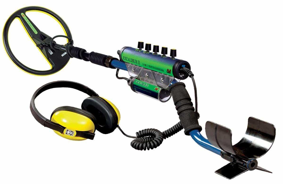 Metalldetektor Unterwasserdetektor Minelab Excalibur II